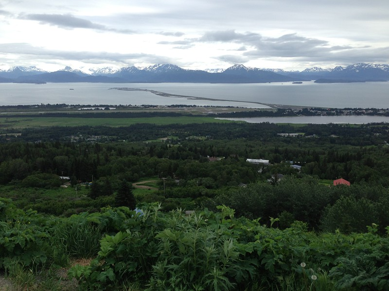 hawaii or alaska - view of homer spit