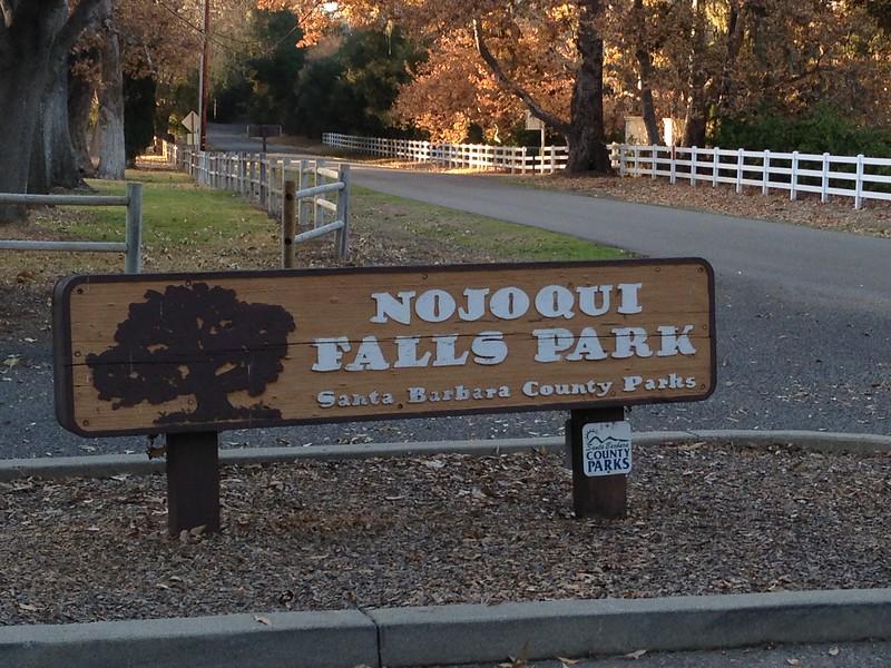 nojoqui falls park sign
