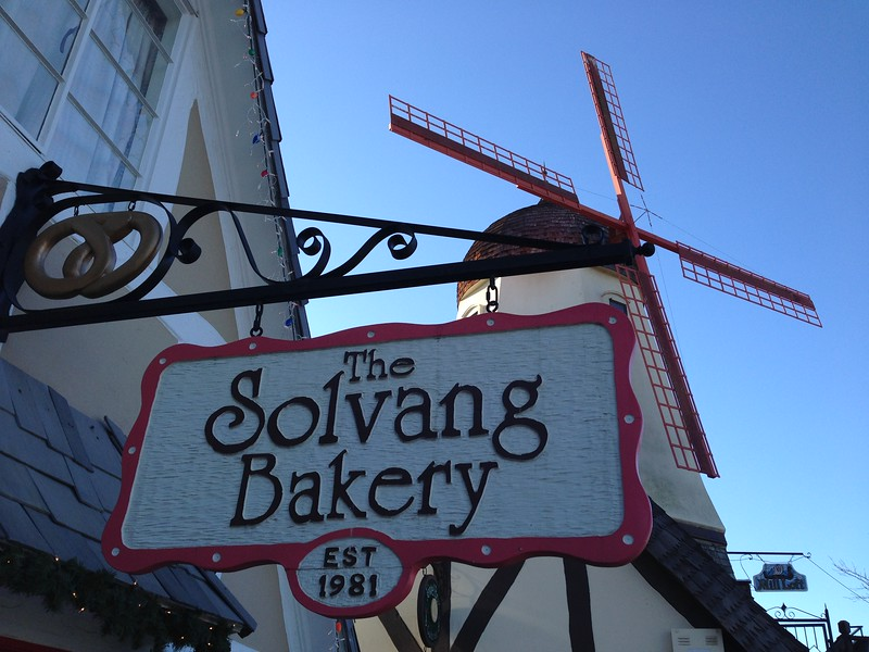 solvang bakery sign