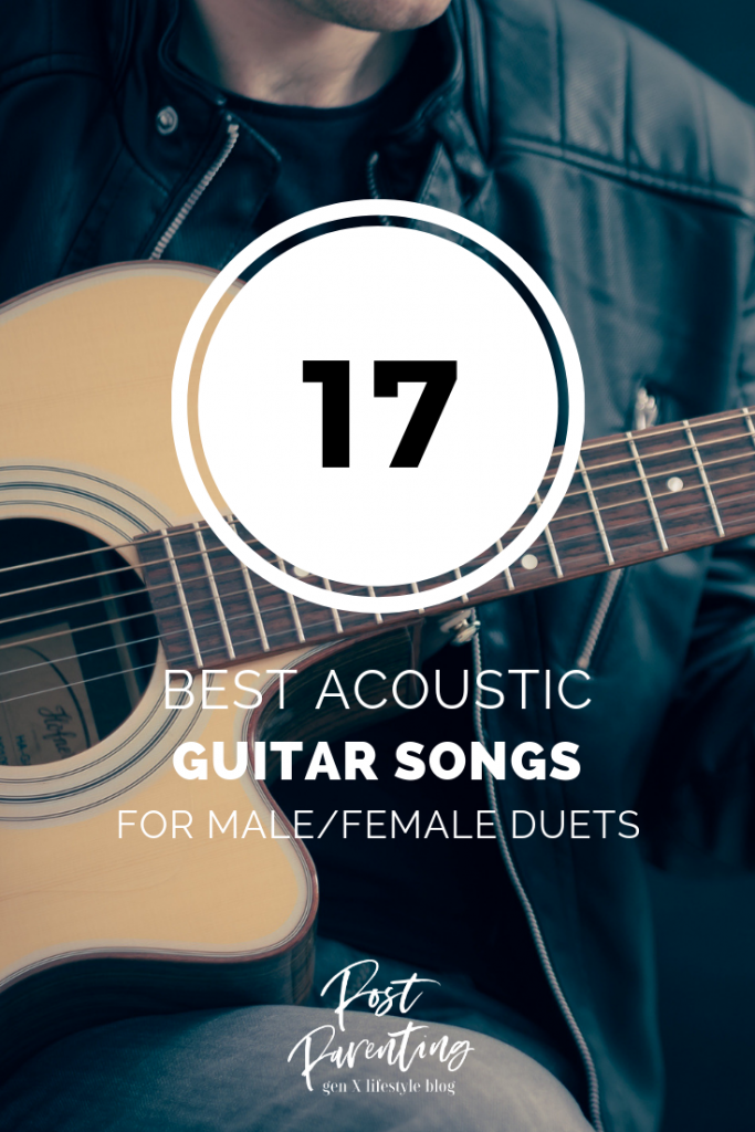 best acoustic guitar songs for male-female duets pin