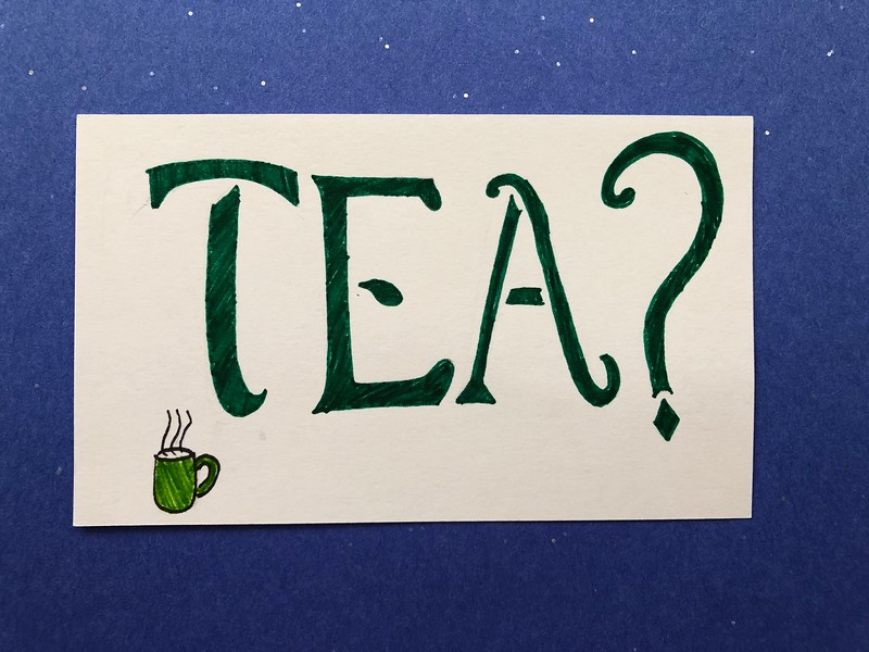 marvel movie quote - tea