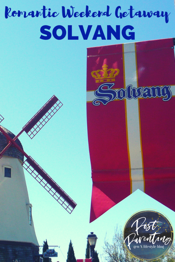 romantic weekend getaway in solvang pin